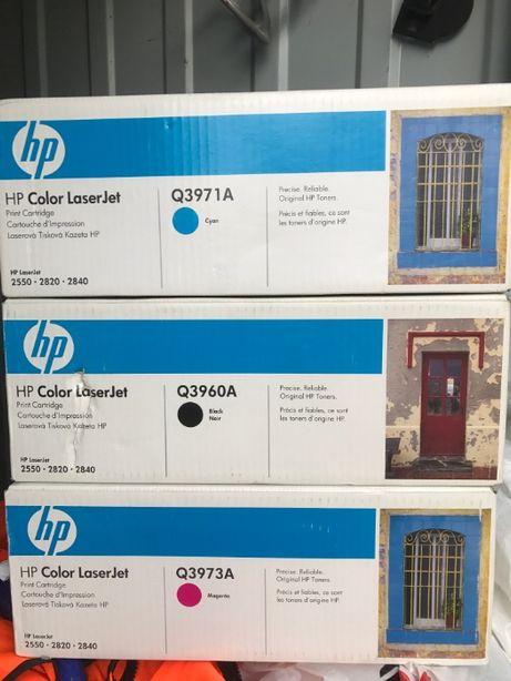 Toner org. HP Color Laser Jet/Q3960A,Q3971A,Q3973A.