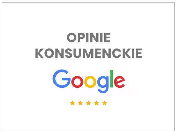 Darmowe opinie Google, Google moja firma, wizytówka Google