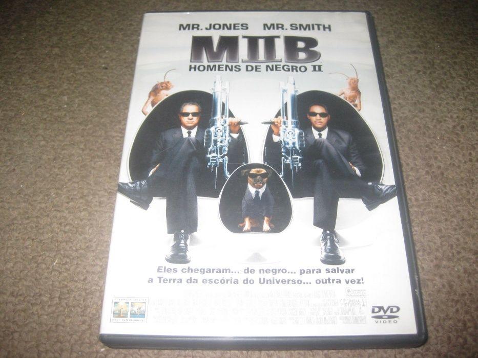 """""""Homens de Negro II"""" com Will Smith/Edição 2 DVDs Paços de Ferreira - imagem 1"""