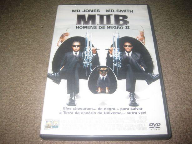 """""""Homens de Negro II"""" com Will Smith/Edição 2 DVDs"""