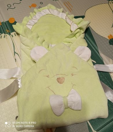 конверт одеяло для новорожденного на выписку