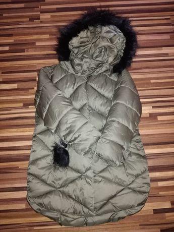 Śliczny ciepły zimowy płaszcz Reserved rozm.110