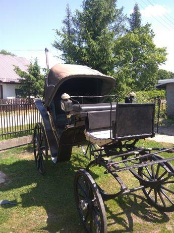 Wóz konny karoca warszawska