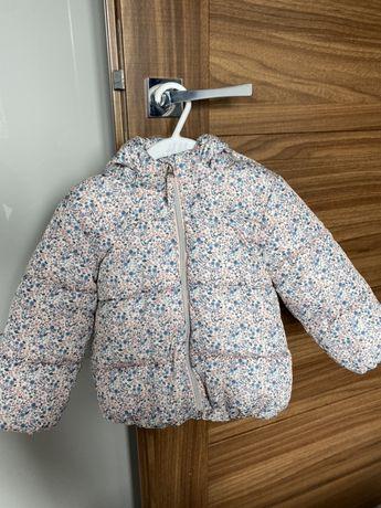H&M kurtka wiosna  rozm 92 kwiaty j Newbie