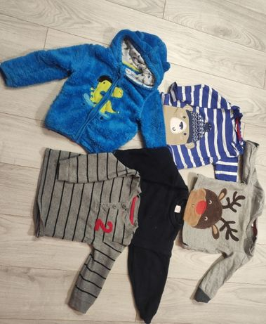 Paka ubrań dla Chłopca 1-4 l