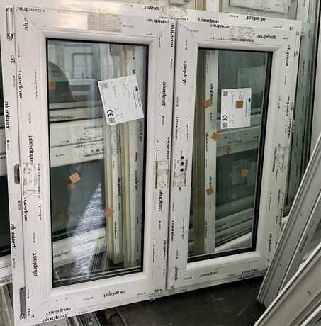 Janela PVC oscilobatente  120L/110 Altura