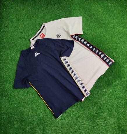 Koszulki kappa vintage z lampasami nowa kolekcja nowy model