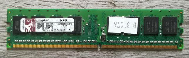 Pamięć RAM Kingston DDR2 512MB KVR533D2N4/512
