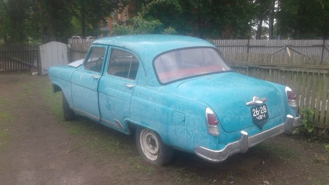 ГАЗ-21М по запчастям