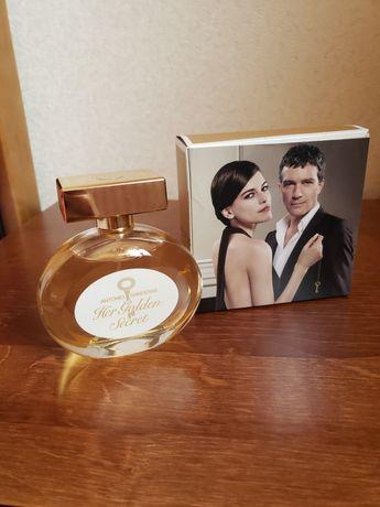 "Туалетна вода Antonio Banderas "" Her golden secret"" 80 мл"