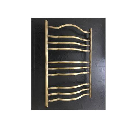 Латунный ретро полотенцесушитель Amadeus 500х800 состаренная бронза
