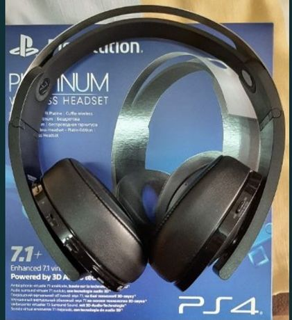Headset PS4/PS5 Platinum