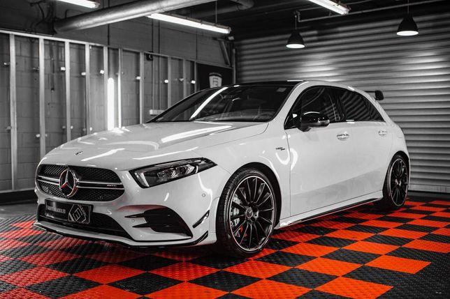 Mercedes A35 AMG 306Km Wynajem Wypożyczalnia Aut Samochodów Lublin