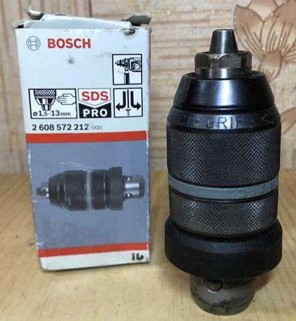 Патрон → BOSCH ROHM 1,5-13мм з перехідником SDS+   2608572212