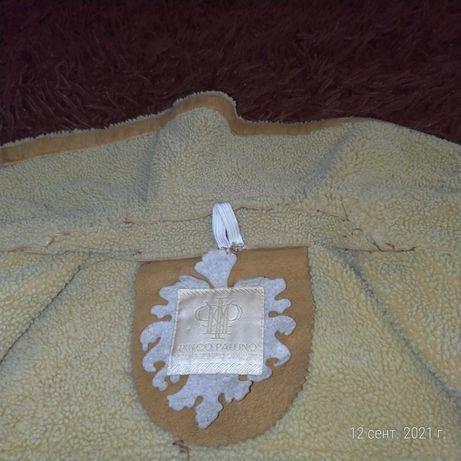 Итальянская цельная дубленка, люксовая марка I Pinco Pallino