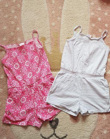 Spodnium 116 komninezon letni dla małej modnisi f&f j h&m