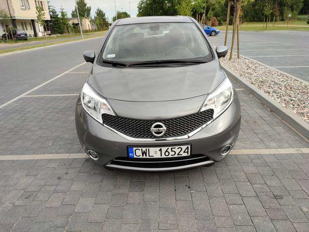 Nissan Note 1.2benz 2014 53.735 TEKNA z Niemiec kamera,nawi Śwież ZARE