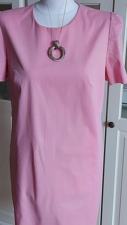 Różowa sukienka-SIMPLE -rozm. 42