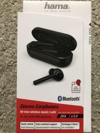 słuchawki bezprzewodowe firmy Hama *nowe*
