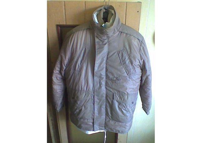 Теплая нейлоновая куртка