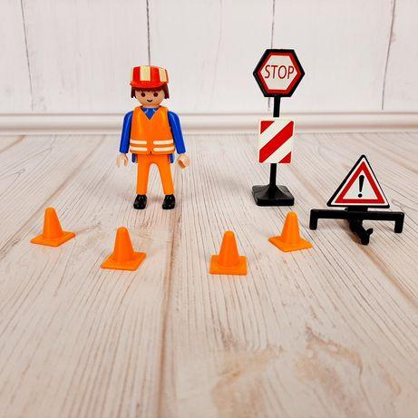 Playmobil  дорожные работы