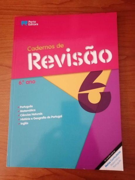 Caderno de revisões 6º ano