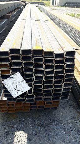 Profil stalowy 50x30x2 rura kwadrat stal profile stalowe zamknięte