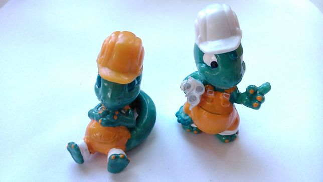 Киндер сюрприз 90-е годы. Динозаврики. Динозавры.«Die Dapsy Dinos» (19