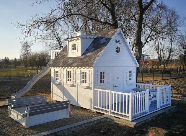 Drewniany domek ogrodowy dla dziecka, dzieci Naukowiec od Dżepetto!