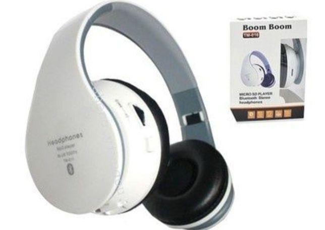 Nowe super słuchawki bluetooth bezprzewodowe Mega bass Boom boom