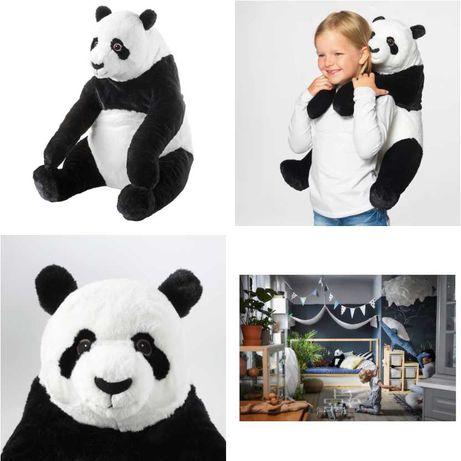 Плюшевая игрушка Панда 47 см IKEA - детская мягкая Пандочка медведь