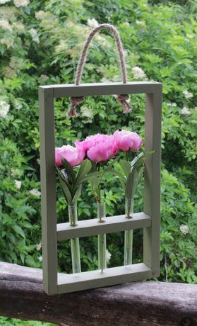 Рамки для квітів з колбами