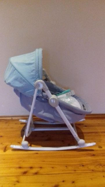 Kinderkraft Leżaczek 5w1 Unimo jasno niebieski