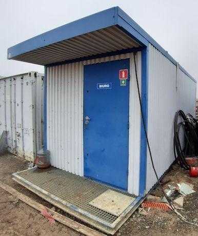 Zaplecze budowlane kontener biuro socjalny Kontener biurowy nr2