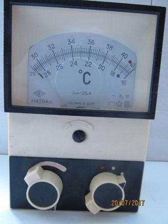 Термометр медицинский ТПЭМ-1М, 1972 год выпуска, рабочий