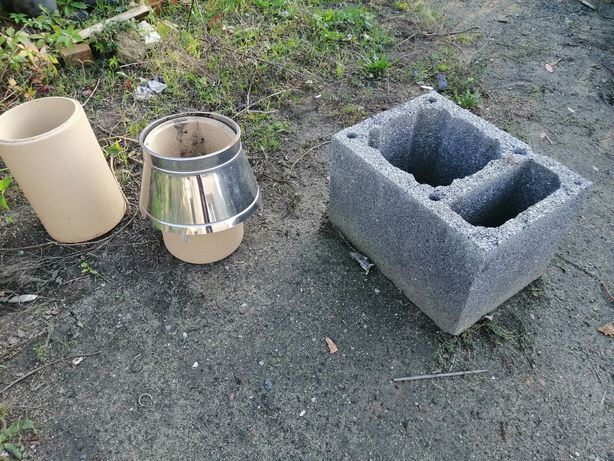 Kształtki kominowe, wkłady kominowe, ceramika