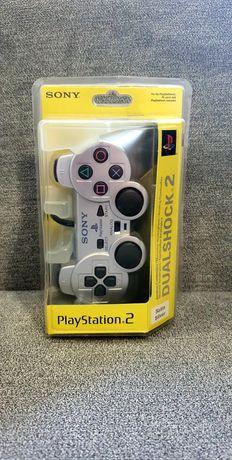 Nowy Pad Dualshock2 Playstation 2 Satin Silver