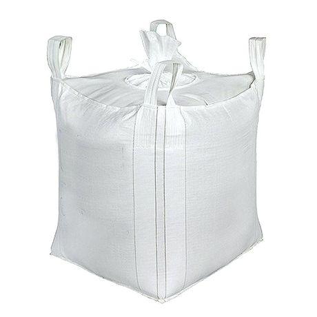 Nowy Worek Big Bag beg 91/91/100 cm lej zasyp/wysyp 1000 kg HURTOWNIA