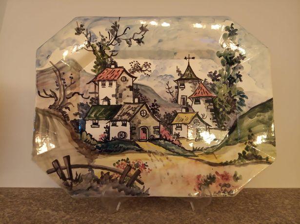 Louça alentejana pintada à mão - várias peças
