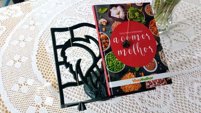 Base para livro de cozinha