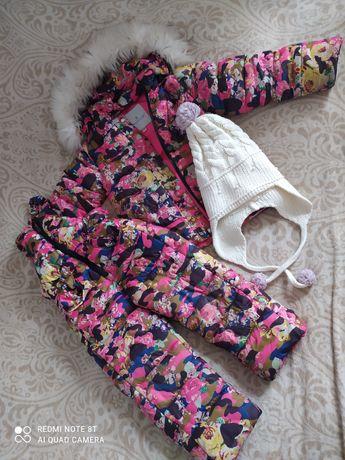 Зимний костюм для девочке