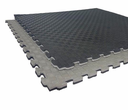 """Татами """"ласточкин хвост""""  26 мм, плотность 120 кг/м.куб. черно- серые"""