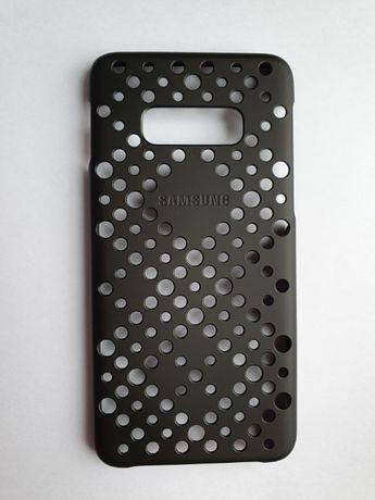 Samsung S10e etui oryginalne Pattern Cover czarny