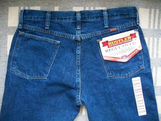 новые джинсы Rustler , Wrangler 32 USA