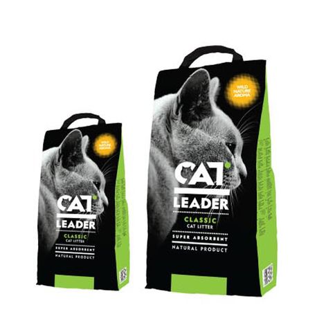 Cat Leader Classic Wild Nature Кет лидер классик наполнитель впитыв