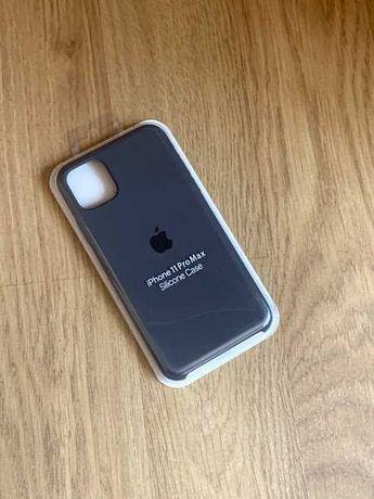 Apple etui case iphone 11 pro max szary