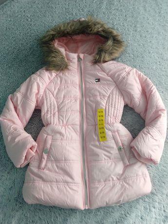 Kurtka zimowa Tommy Hilfiger roz S 7-8 lat NOWA 122-128 cm