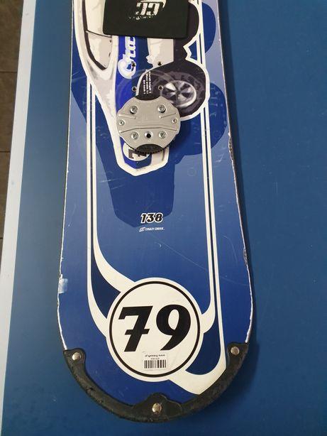 Deska snowboardowa 138cm Frazy Creek okazja Nowa Cena