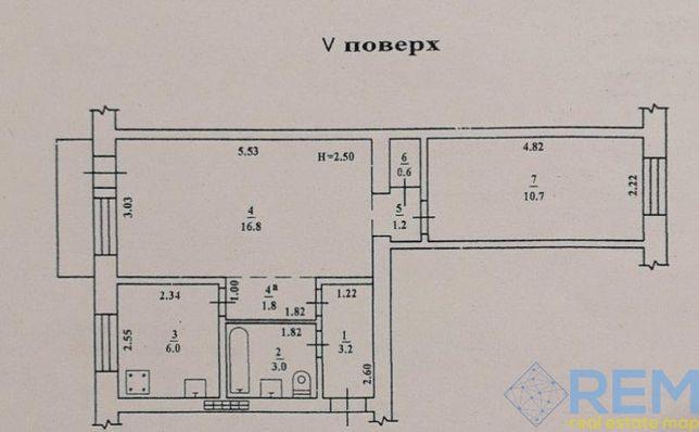 Двухкомнатная квартира на Черемушках (79)