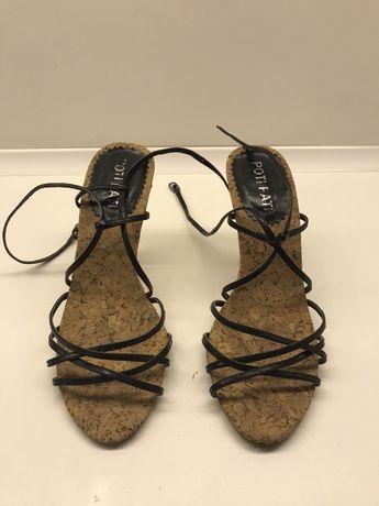 Eleganckie sandały na obcasie, rozm. 39